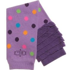 I like purple, and polka dots, that works! Amazon.com: BabyLegs Leg Warmers - Skee Ball-One Size: Clothing