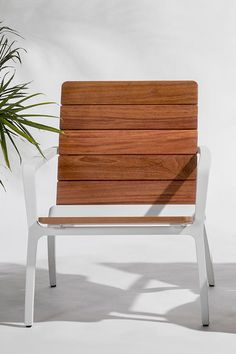 Presenting a fresh interpretation of the classic Adirondack design, Vaya chairs, benches and tables offer a modern take on taking a break. Outdoor Lounge Furniture, Outdoor Chairs, Outdoor Decor, Lounge Chair Design, Rest And Relaxation, Product Design, Apartments, Tables, Cushions