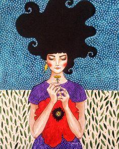 she is waiting inside (24x32cm) #watercolour #aquarelle #suluboya #art #illustration #drawing #draw #poppy #artist #sketch #sketchbook #paper #pen #pencil #artsy #instaart #pattern #portrait #woman #gallery #creative #photooftheday #instaartist #artoftheday #hülyaözdemir