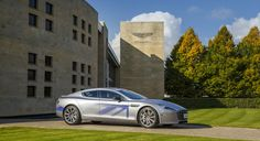 Aston Martin unveils electric concept RapidE during state visit