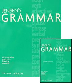 Homeschool, Language Arts. Correct grammar is an important part of communicating effectively. Your student will definitely know grammar, as well as how to apply it to his or her own writing, after taking Jensen's Grammar.