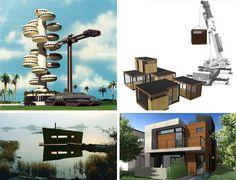 42 Prefab Buildings & Flat Pack Furniture Designs