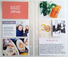Ali Edwards Design Inc. Project Life Freebies, Ali Edwards, Life Page, Simple Stories, Life Inspiration, Lessons Learned, Photo Book, Scrapbook, Album