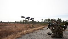 British made Javelin surface to air missile system.