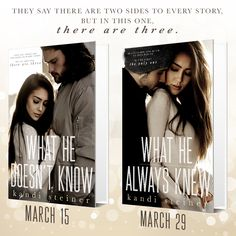 Cover Reveal - What He Doesn't Know Duet by Kandi Steiner