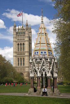 Victoria Tower - Palace of Westminster - London, England
