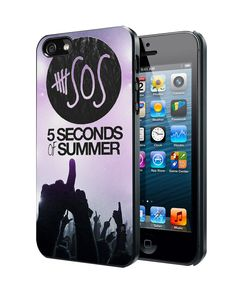 5sos Second Of Summer Logo Galaxy Nebula iPhone 4 4S 5 5S 5C Case