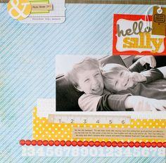 Susan Weinroth Hello Silly {Studio Calico March Kit}