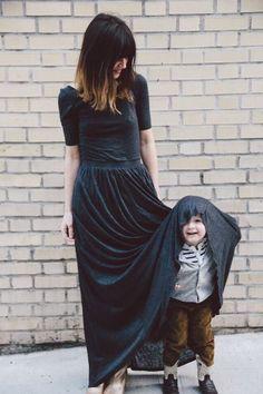 Imagens emocionantes de mães e filhos