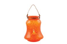 Bell Lanterns with rope or leather handles come in two sizes and 9 colour options. - The Textured Range is a collection of single coloured handmade glassware products by Mdina Glass, ranging from lanterns, scented candleholders, vases, bowls, jugs, tumblers and oil & vinegar bottles... and much more.