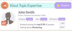 Klout Adds a New Feature to Identify Topic Expertise