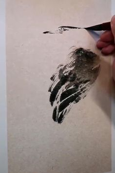 Sumi E Painting, Watercolor Painting Techniques, Watercolor Landscape Paintings, Watercolor Bird, Japanese Painting, Chinese Painting, Japanese Art, Art Chinois, Chinese Drawings