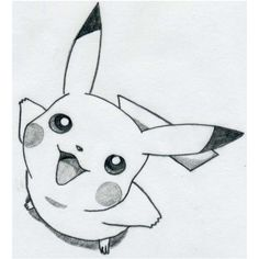 How To Draw Pikachu ❤ liked on Polyvore featuring pokemon, drawings, fillers, pikachu, art, doodle, phrase, quotes, saying and scribble