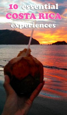 10 essential experiences to have in Costa Rica - don't miss out on these! http://mytanfeet.com/costa-rica-travel-tips/essential-costa-rica-experiences/