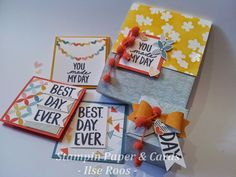 Stampin Paper & Cards - Ilse Roos: Still Sale-A-Brating NL Stampin'Up! demo's Bloghop