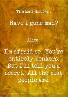 Bonkers! (Alice in Wonderland)