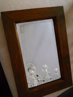 Mission Arts & Crafts era wall mirror by TheSageScottie on Etsy, $68.00