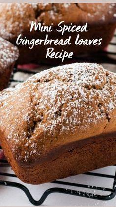 Fall Baking, Holiday Baking, Christmas Baking, Holiday Bread, Christmas Bread, Loaf Recipes, Baking Recipes, Breakfast Bread Recipes, Just Desserts