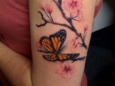 24 Magnificent Monarch Butterfly Tattoo List For The Ones Looking ...