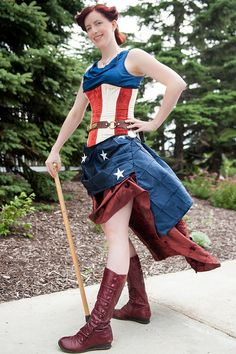 Steampunk Captain America by UAJamie1, via Flickr