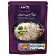 #Tesco! Basmati Microwave Rice.