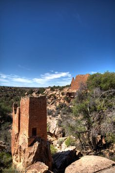Towers at the Holly Group, Hovenweep National Monument.