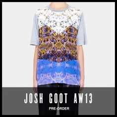 edaa5ef1 Celebrities who wear, use, or own Josh Goot Fall 2013 'Tee' Python Print T- Shirt. Also discover the movies, TV shows, and events associated with Josh  Goot ...