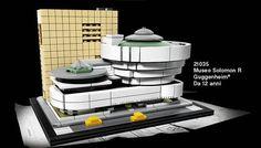 LEGO Architecture 21035 Guggenheim Museum : premier visuel: C'est dans les pages de la version italienne du catalogue LEGO du premier… #LEGO
