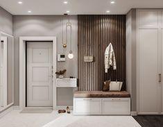 Фотография Hall Interior, Apartment Interior Design, Bathroom Interior Design, Interior Design Living Room, Home Room Design, House Design, Home Entrance Decor, Corridor Design, Apartment Entryway