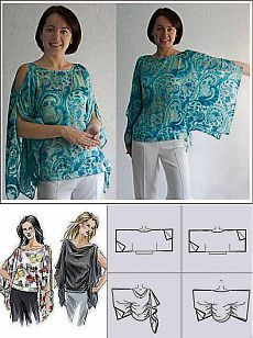 Fantastic 50 Sewing tutorials tips are offered on our web pages. Read more and … Tunic Sewing Patterns, Sewing Blouses, Clothing Patterns, Dress Patterns, Pattern Sewing, Fashion Sewing, Diy Fashion, Ideias Fashion, Moda Fashion