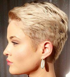@kryptogirl7 #pixie #harcut #shorthair #h #s #p #shorthaircut #hair #b #sh…