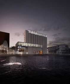 Kunstsilo - Art museum project in Kristiansand, Norway