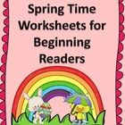 Beginning reading students love this fun pack of 12 different pages to read, learn and do.  Visit http://www.sightandsoundreading.com for more resources.