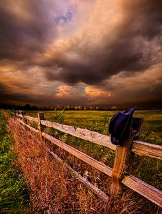 """chillypepperhothothot:   His Thoughts Were His Only Companions by Phil Koch    Via Flickr:    """"His Thoughts Were His Only Companions"""" Horizons by Phil Koch. Milwaukee, Wisconsin, USA. phil-koch.artistwebsites.com www.facebook.com/MyHorizons"""