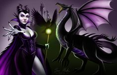 Lady Maleficent by TeamMatrix12.deviantart.com on @deviantART