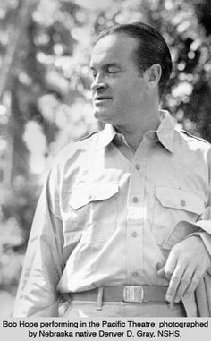 Bob Hope. One who cared about our troops and performed for them.