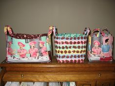I Love Lucy Chocolate Factory baskets!