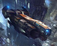 Rordis-Class Freighter #spaceship – https://www.pinterest.com/pin/474355773245353041/