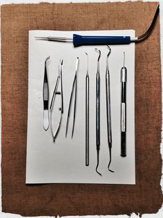 Eines per a la microcirurgia tèxtil /  Textiles microsurgery tools
