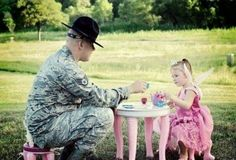 Daddy Daughter Tea Party