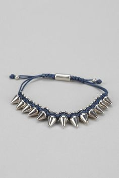 Urban Outfitters Metal Spike Bracelet on shopstyle.com