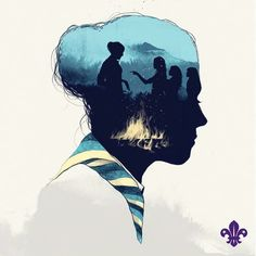 Rover Scout Problems (and Perks) Cub Scouts, Girl Scouts, Outdoor Logos, Scout Activities, Scout Camping, Forest Illustration, Girl Guides, Step By Step Drawing, Wallpaper