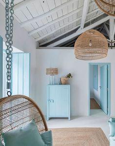 Greek Bedroom, Home Interior, Interior Design, Greek Decor, Tuscan House, Style Deco, Mediterranean Decor, Mediterranean Architecture, Design Case