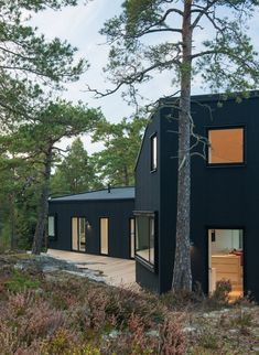Villa Blåbär in Sweden by pS Arkitektur via Contemporist.