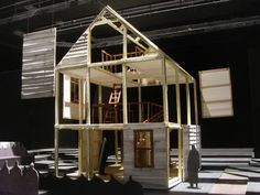Death of a Salesman: Set Design Model