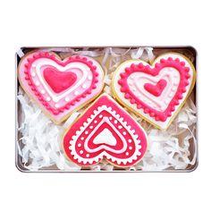 Handgemachte Kekse in einer Blechdose von ideen-depot auf DaWanda.com