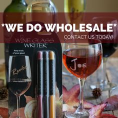 Wine Glass Writers bring a new and fun energy to all types of retail stores. From hundreds of family-owned shops and hardware stores to international megastore chains, our customers love selling our products just as much as they love using them!  Would Wine Glass Writers be a good fit for your business?   #wineglasswriter #wholesale #retail