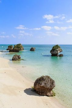 Beautiful Southern Japanese coastline on New Years, Okinawa (by Ippei & Janine Naoi) Places Around The World, Oh The Places You'll Go, Places To Travel, Places To Visit, Around The Worlds, Paradis Tropical, Okinawa Japan, Japan Japan, Okinawa Beach
