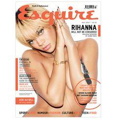 Rihanna x Esquire July 2012