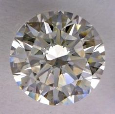 1.01-Carat Round Cut Diamond    This Excellent-cut I-color, and VS2-clarity diamond comes accompanied by a diamond grading report from GIA  $5684.28